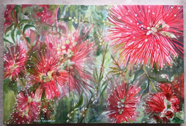 Australian Bottlebrush ... Nature's Fireworks