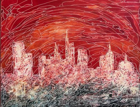 Abstract Cityscape CZ18035