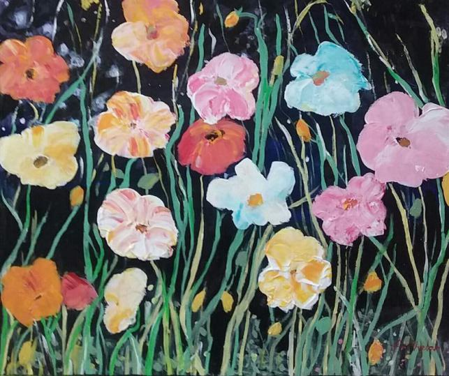 In The Midst Of Flowers