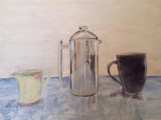 Still Life With Coffee Urn