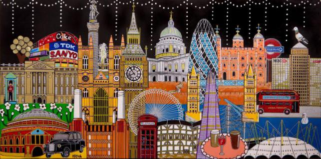 London (2018) Limited Edition Print (100 Produced)