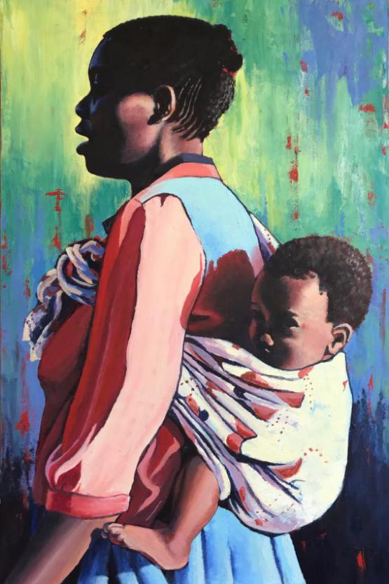 Zimbabwe Mother And Child