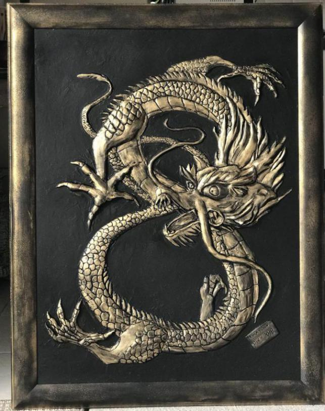 DRAGON & 8  ( Chance  Number In Some Culture)