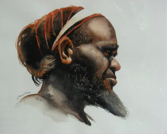 Aborigine Portrait