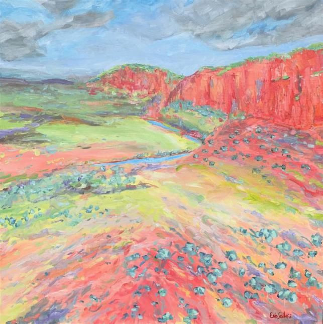 Glen Helen Gorge - Painted Landscape Series