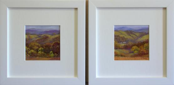 Into The Hills, Apollo Bay (Miniature Pair)