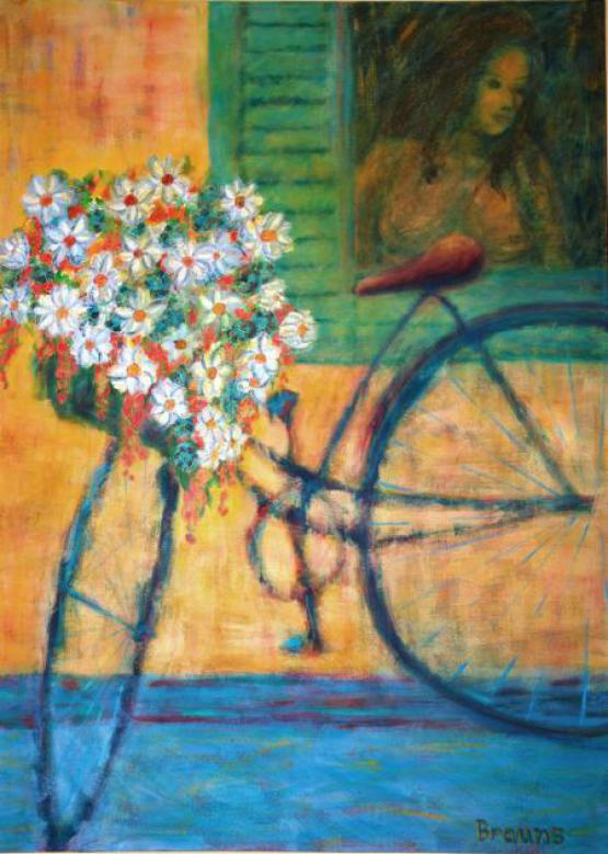 Bike Of Flowers