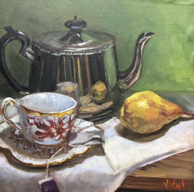 Tea Time - Still Life Ready To Hang