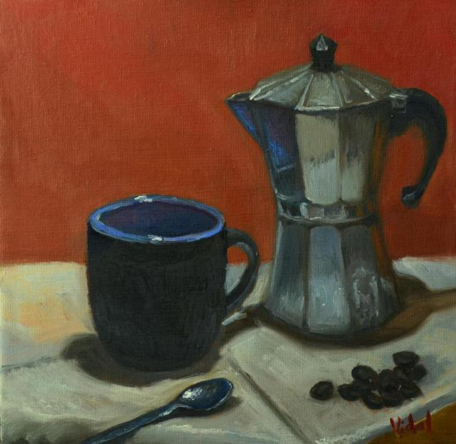 Cup Of Coffee - Still Life Ready To Hang