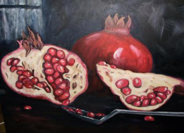 The Passion Of Pomegranate